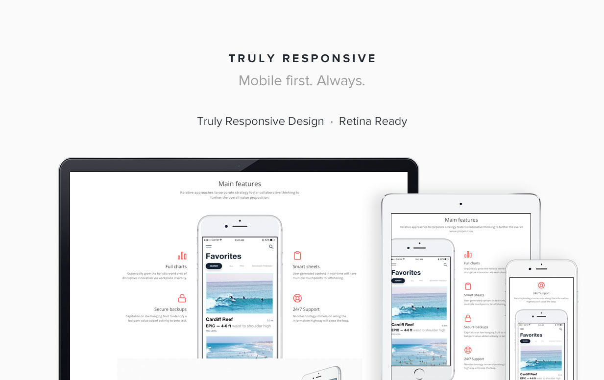 Concepta - SaaS, Software, WebApp & Services Template - 2