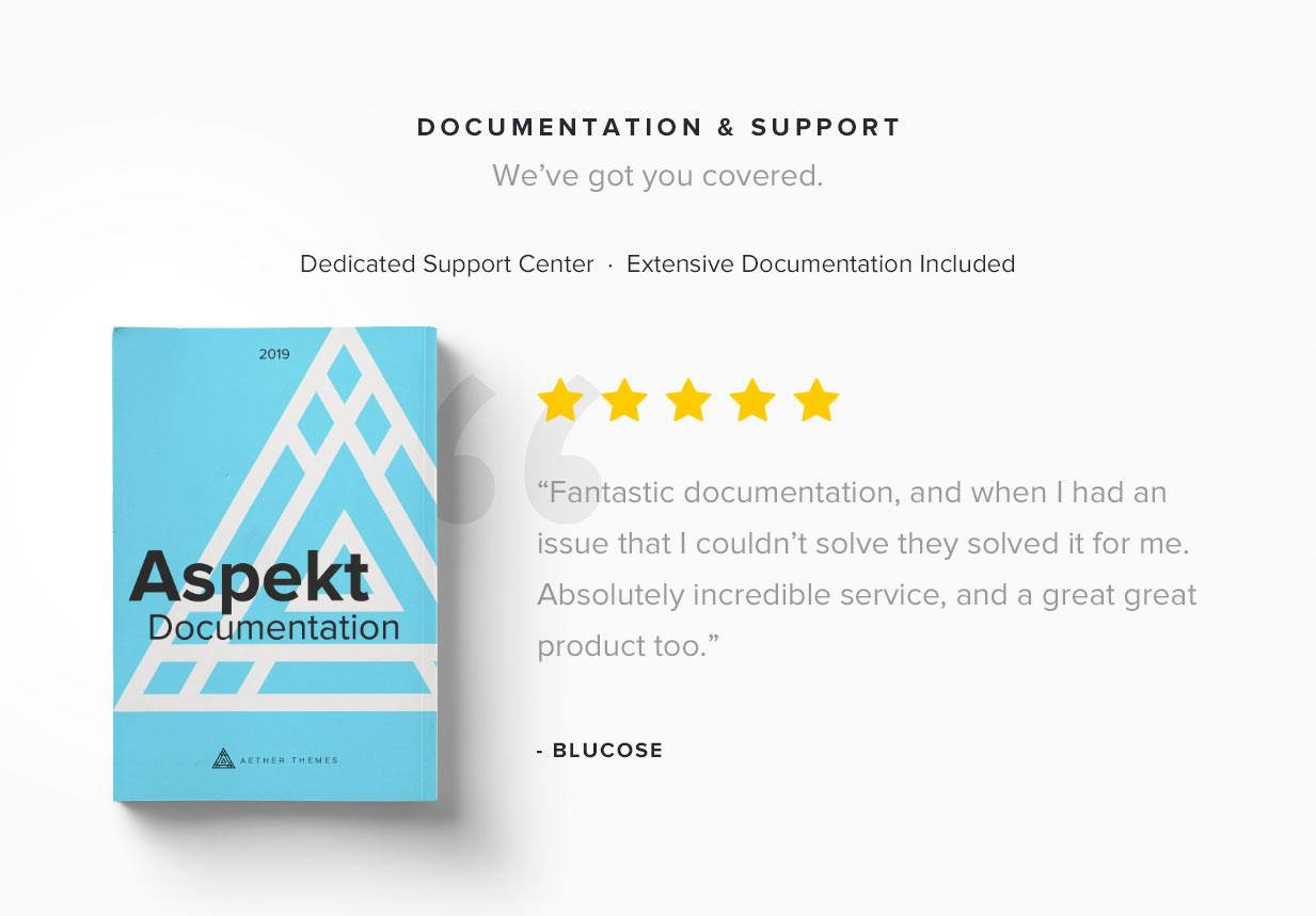 Aspect - Creative Launching Page - 3